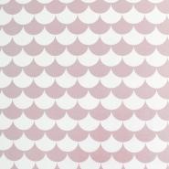 Deko, tisk, 18227-013, roza