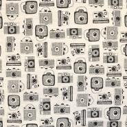 Jersey, fotoaparat, 18241-025, sivo bež
