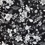 Bombaž, poplin, cvetlični, 18158-04