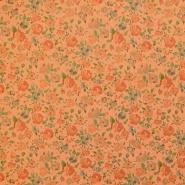 Tkanina, keper, cvetlični, 18158-13