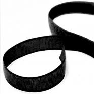 Klettband, 30mm, selbstklebend, 18253-2, schwarz