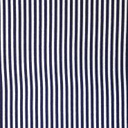 Tkanina, viskoza, črte, 18162-01