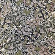Tkanina, viskoza, cvetlični, 18162-18