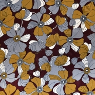 Tkanina, viskoza, cvetlični, 18162-19