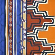 Tkanina, viskoza, geometrijski, 18162-22