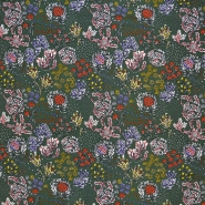 Tkanina, viskoza, cvetlični, 18162-24