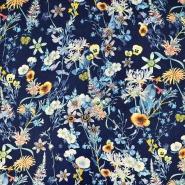 Tkanina, viskoza, cvetlični, 18162-57
