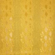 Umetno usnje, kača, 17700, rumena