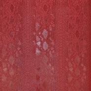 Umetno usnje, kača, 17700-367, rdeča