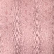 Umetno usnje, kača, 17700-205, roza