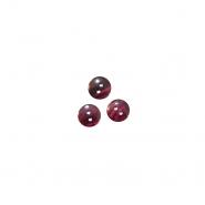 Gumb, srajčni, 2780-1, rdeča