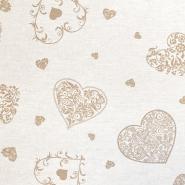 Deko, tisk, romantični, 18275-6078