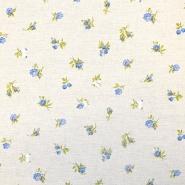 Deko, tisk, cvetlični, 18275-6155