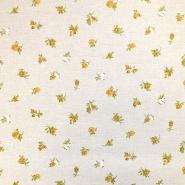 Deko, tisk, cvetlični, 18275-6156