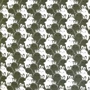 Jersey, bombaž, živalski, 18283-002, zelena