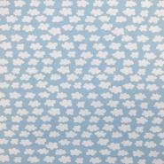 Jersey, bombaž, oblaki, 18289-004, modra