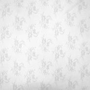 Čipka, elastična, 2649-102, srebrna