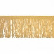 Fransen, 10cm, 18306-14, beige