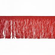 Fransen, 10cm, 18306-127, rot