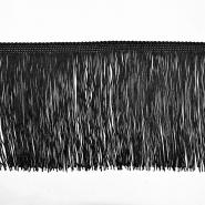 Fransen, 15cm, 18307-2, schwarz