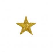 Prišivak, zvijezda, 18314-100, zlatna