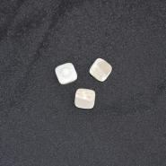 Gumb, modni 20, 18328-001, bela