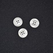 Gumb, kostimski 28, 18266-001, bela