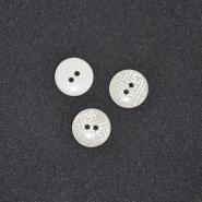 Gumb, kostimski 32, 18338-001, bijela