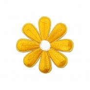 Prišivak, cvjetni, 18343-004, žuta