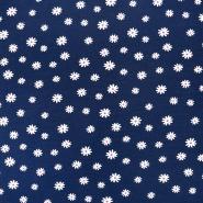 Jersey, bombaž, cvetlični, 18282-034 - Svet metraže