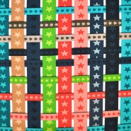 Jersey, bombaž, digital, zvezde, 18385-61081 - Svet metraže