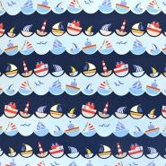 Jersey, bombaž, morski, 18389-61484