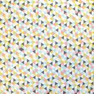 Bombaž, poplin, geometrijski, 16373-7