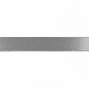 Trak, saten, 15mm, 15459-1132, siva