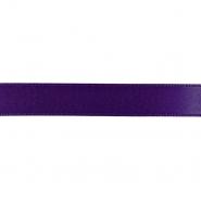 Traka, saten, 15 mm, 15459-1291, ljubičasta