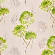 Deko, tisk, cvetlični, 18259-14