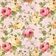 Deko, tisk, cvetlični, 18259-6