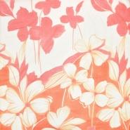 Bombaž, tanek, cvetlični, 18157-06