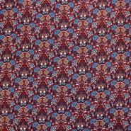 Bombaž, tanek, cvetlični, 18157-03