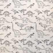 Jersey, živalski, 18458-22, sivo bež