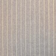 Svila, buret, črte, 18480-014, rjava