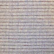 Svila, buret, črte, 18480-019, vijola