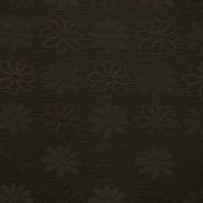 Otoman, žakard, 4146-238, rjava