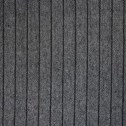 Volna, ribja kost, 11686-010, sivo črna