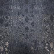 Umjetna koža, zmija, 17700-454, tamnoplava