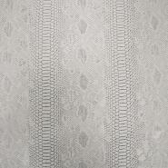 Umetno usnje, kača, 17700-1, siva