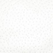 Umetno usnje Autruche, 18179-007, smetana