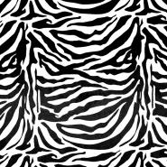 Krzno, umetno, kratkodlako, zebra, 18147-05