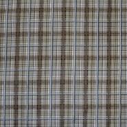 Pamuk, popelin, karo, 5460-09, zelena