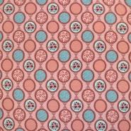 Jersey, pamuk, romantički, 18527-12, ružičasta